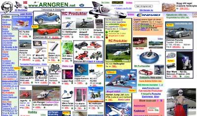 paginas web pasado