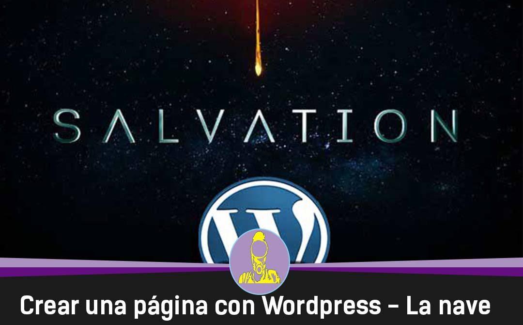Crear una página web con WordPress – La nave