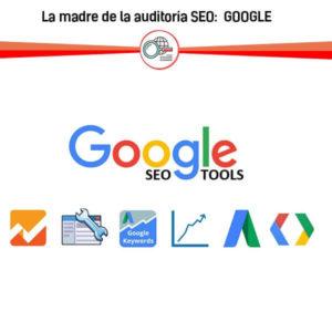 google herramientas aplicaciones auditoria seo